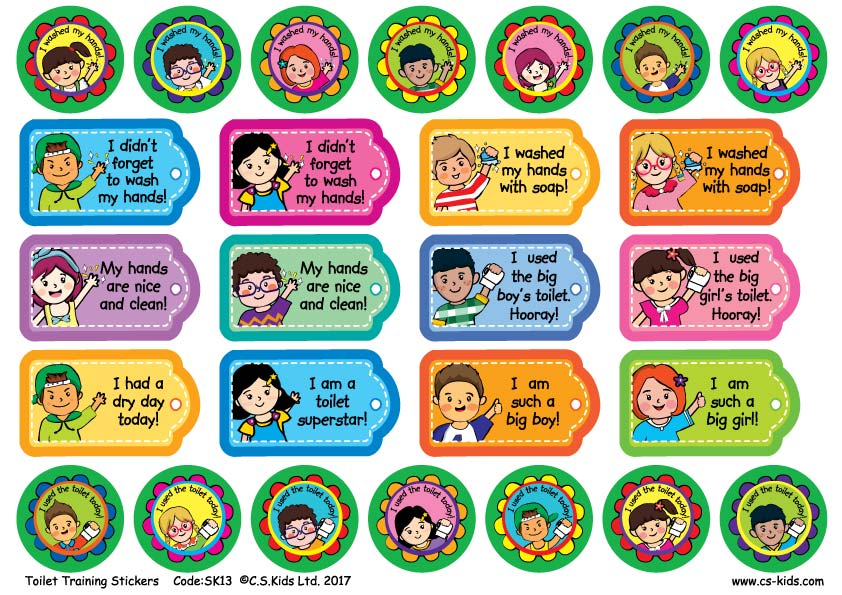 Personalised Stickers Eyfs
