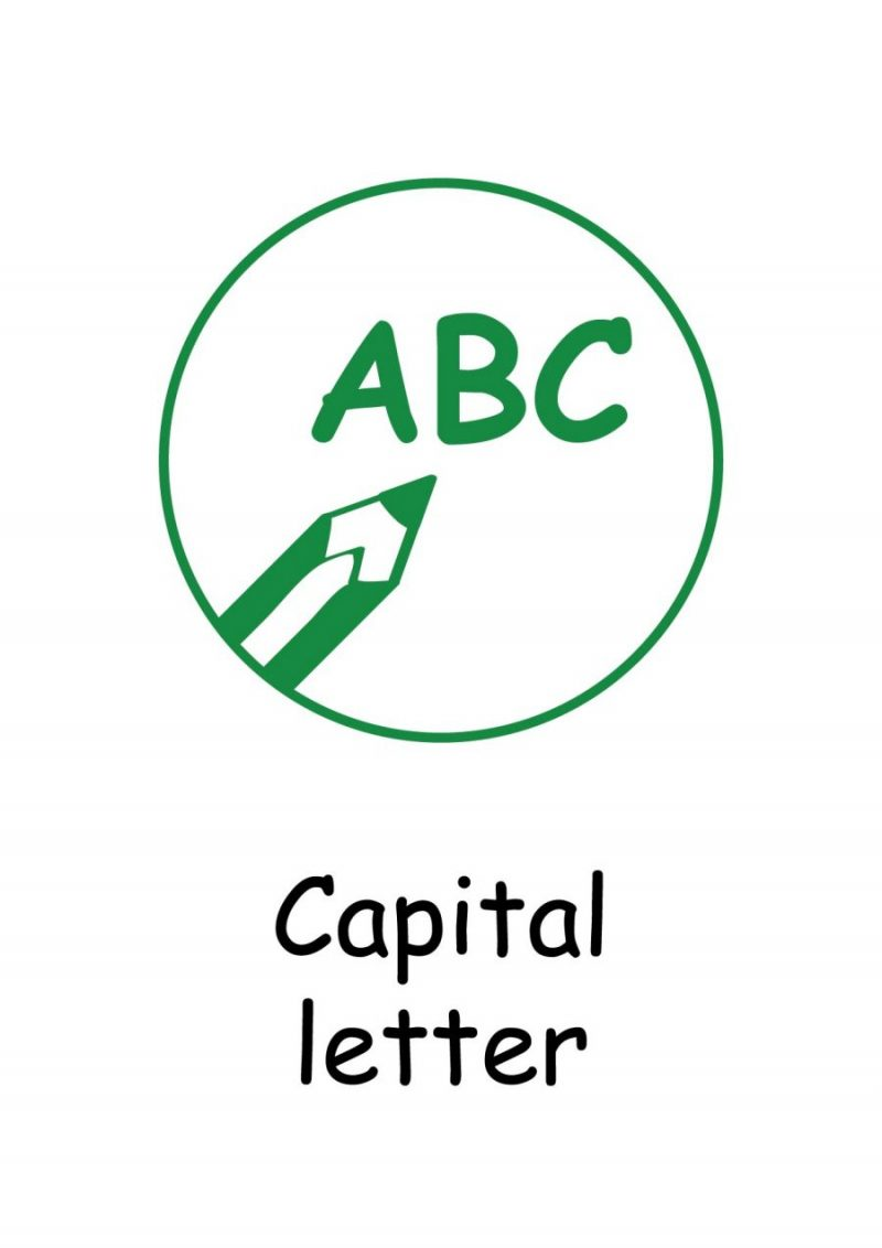 Marking Stamps 02 Capital Letter