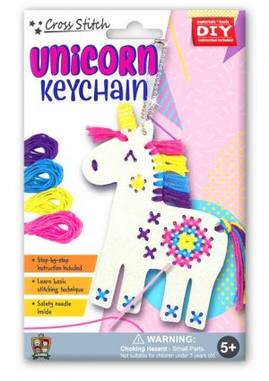 KC01_Box_Unicorn Keychain