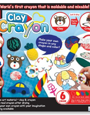 Clay Crayon - Cover