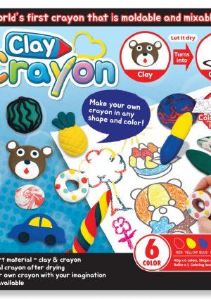 Clay Crayon - Cover