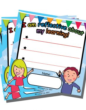 #PYP #IBPYP It's important to take moments and reflect about what is going on. Make it a healthy habit with our reflective notes! Size: 100mm x 100mm / 50 sheets per pack